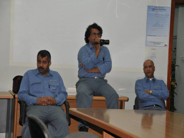 Meeting with TAC employees
